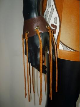 Designer Leder Hand Dekoration