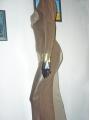 Exklusives semitransparentes Abendkleid mit Schleppe