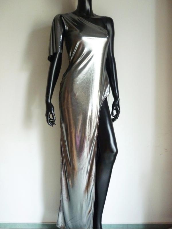 Luxury Abendkleid Metallic
