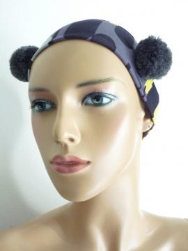 Haarband mit Pompons