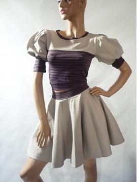 Kleid 2-Teiler mit Telerrock