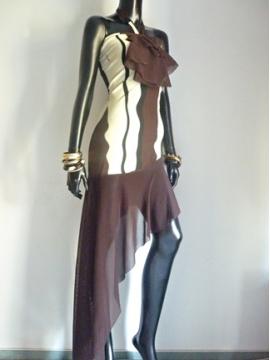 Exklusives Artistisches Kleid