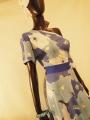 Fantastisches Kleid mit Blumenmuster
